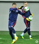 14.10.2013, тренировка сборной России в Баку