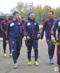 9.10.2013, тренировка сборной России